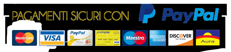 Elenco delle carte di credito con le quali pagare. Licenza o demo